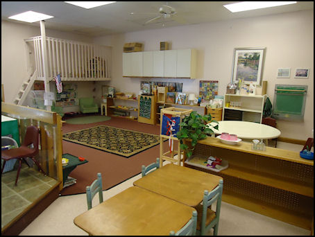 The children's school classroom